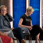 Samantha Bee and Cecile Richards